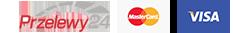 Przelewy24 | MasterCard | VISA